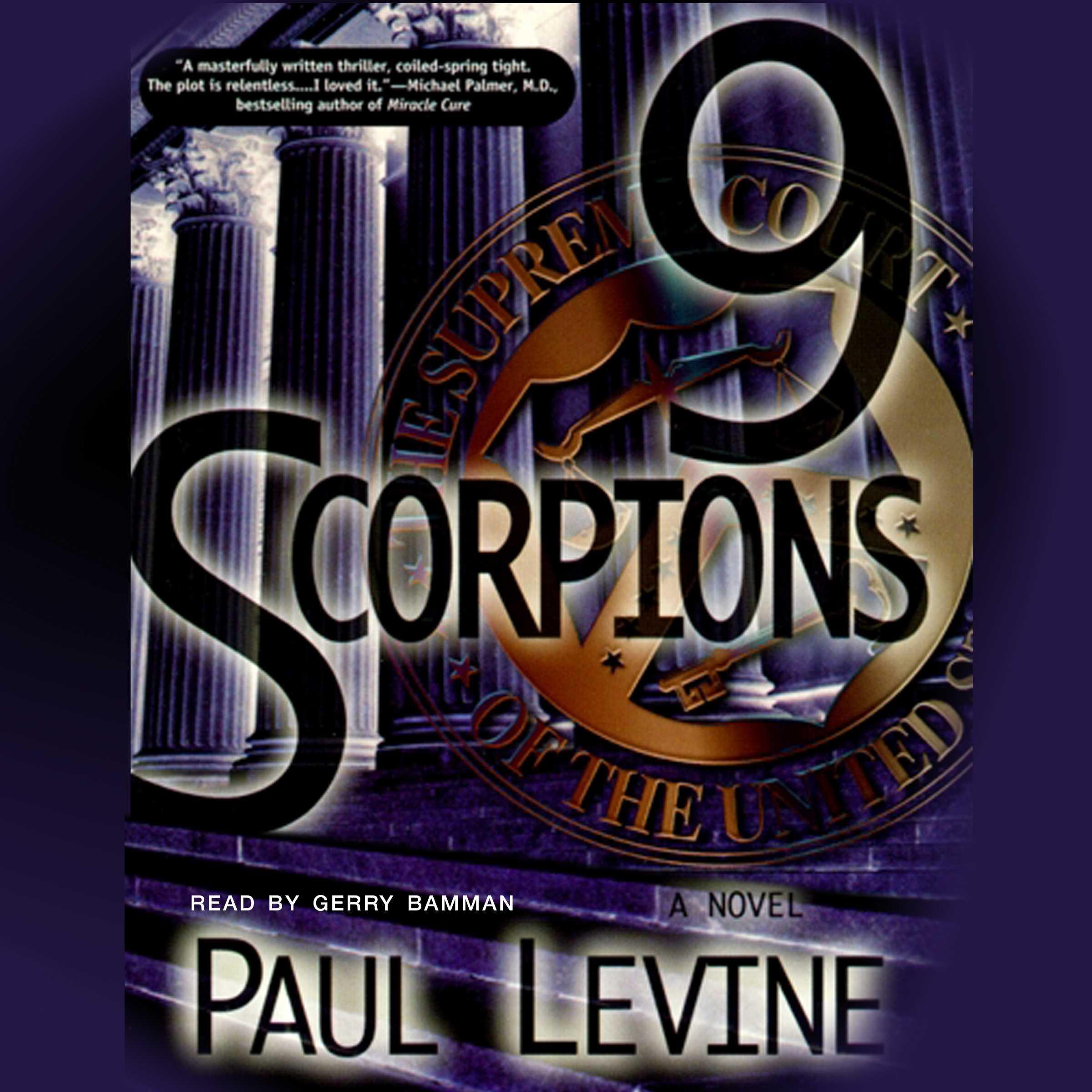 9 scorpions 9780743540780 hr