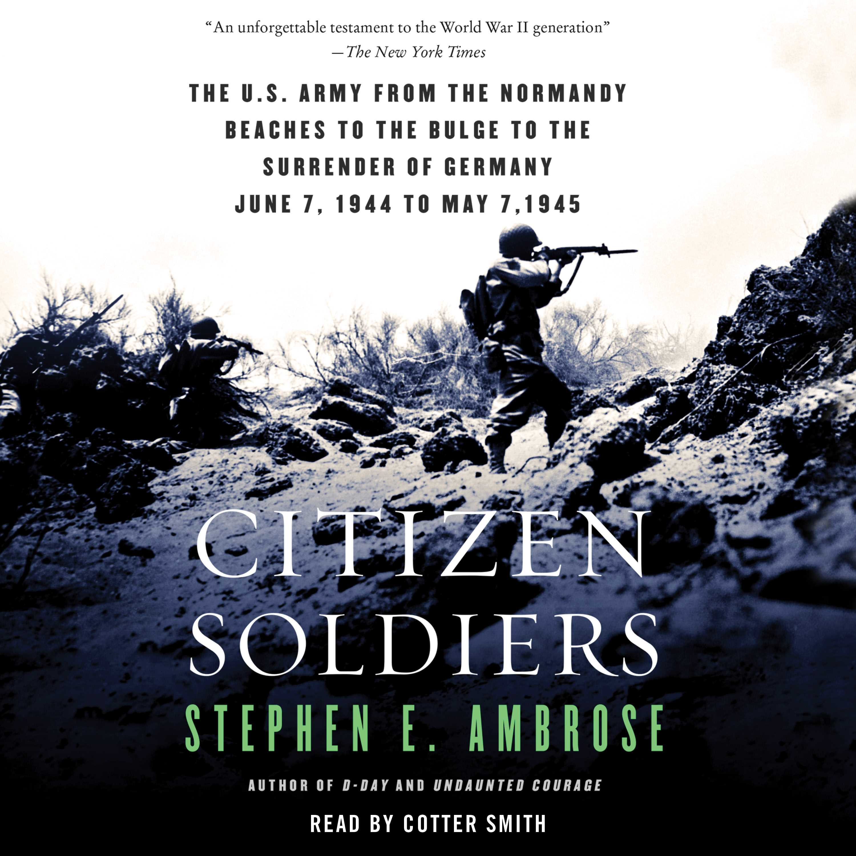 Citizen Soldiers Audiobook by Stephen E  Ambrose, Cotter