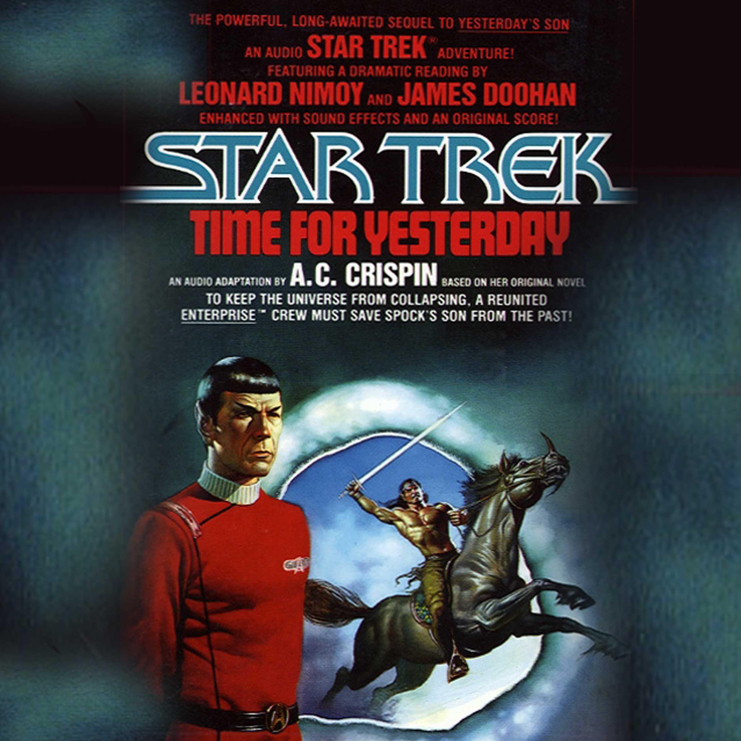 Star trek time for yesterday 9780743545396 hr