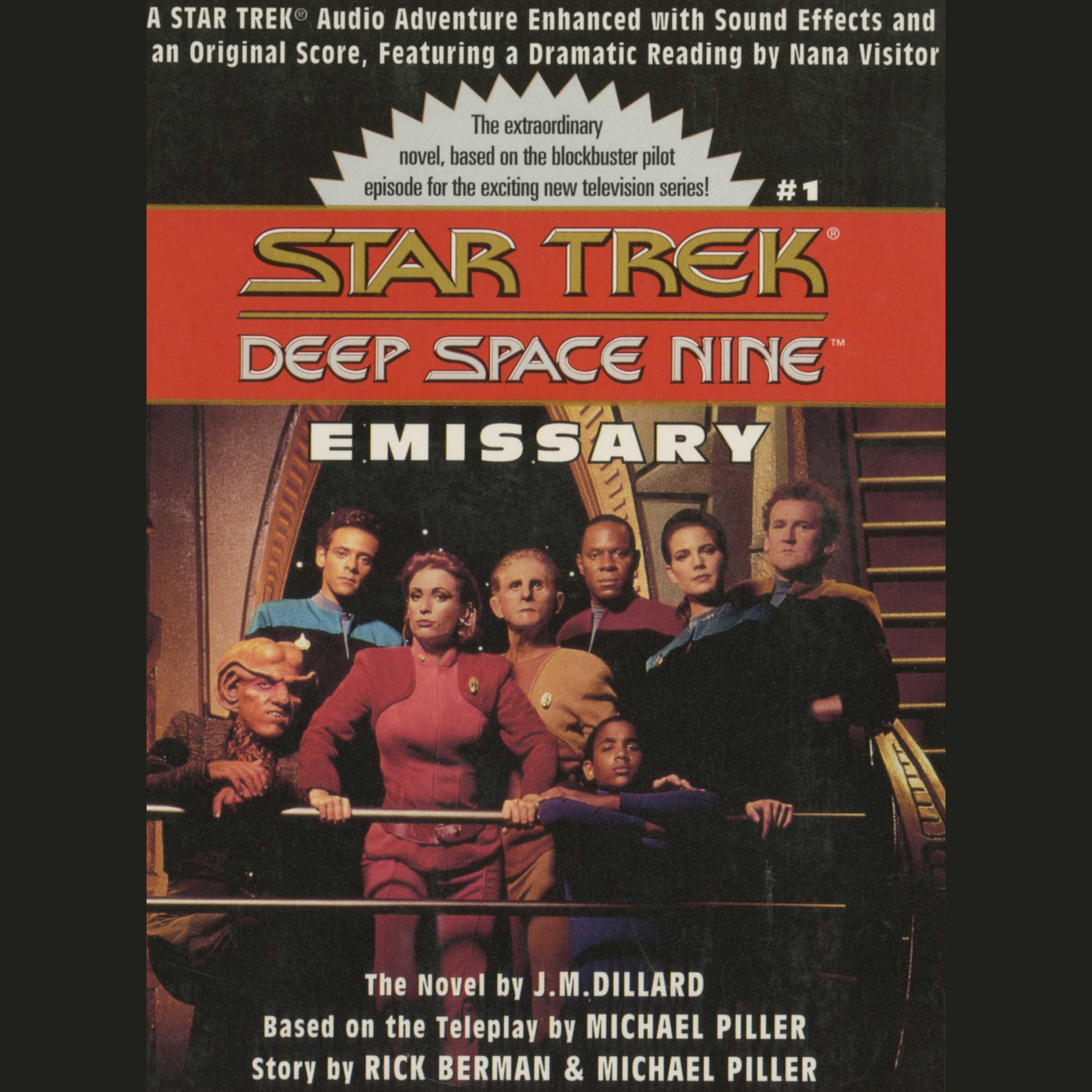 Star trek deep space nine emissary 9780743546225 hr