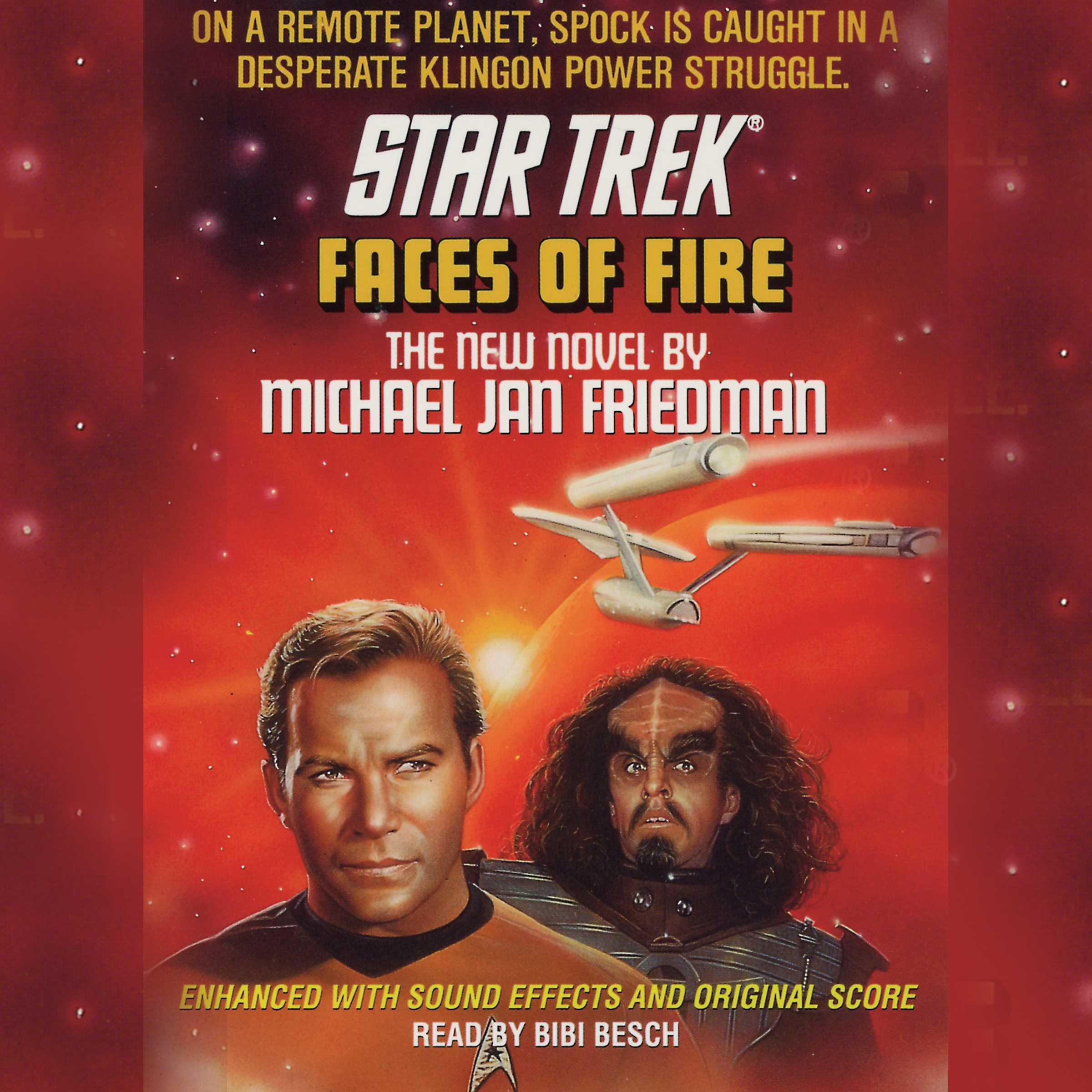 Star trek faces of fire 9780743546614 hr