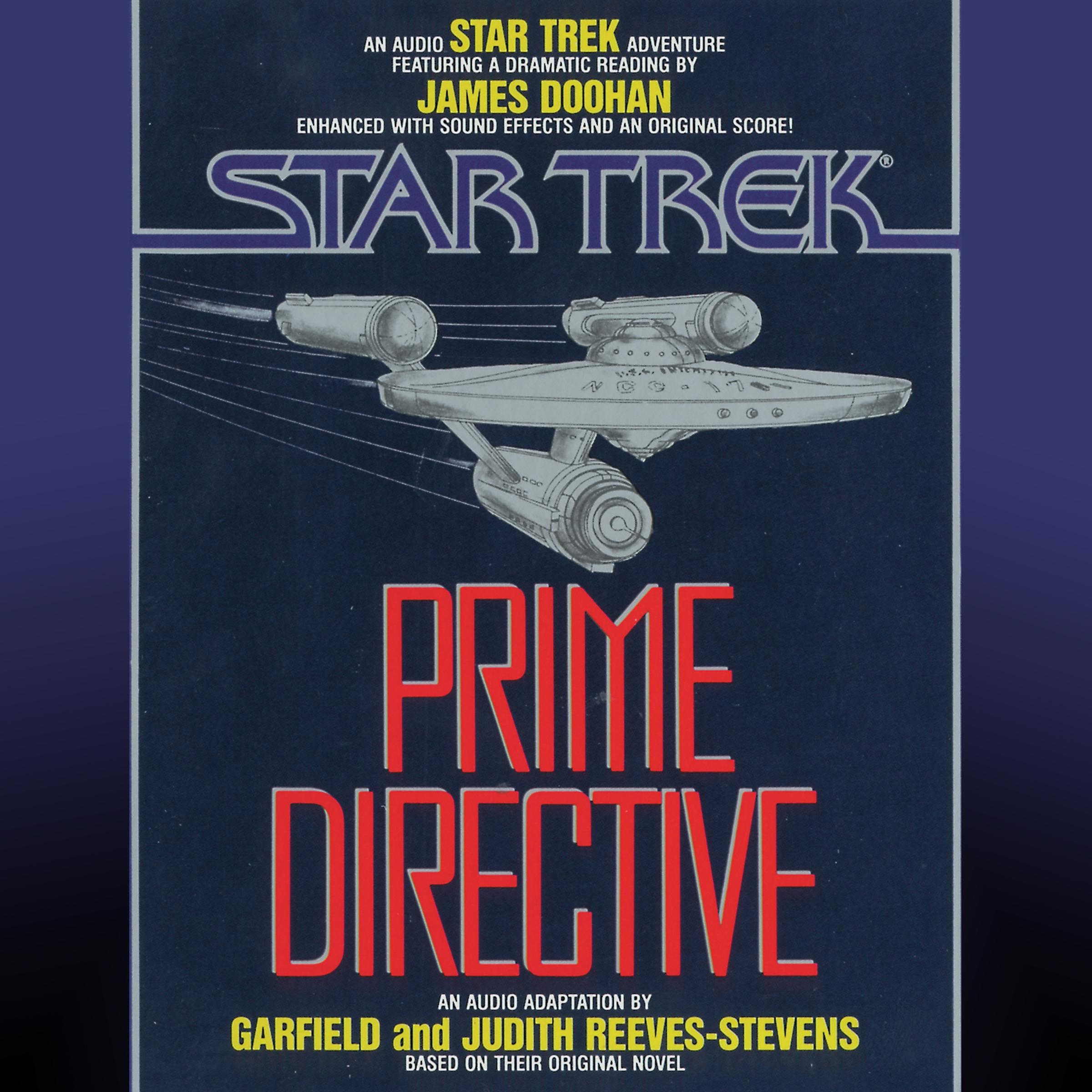 Star trek prime directive 9780743546621 hr