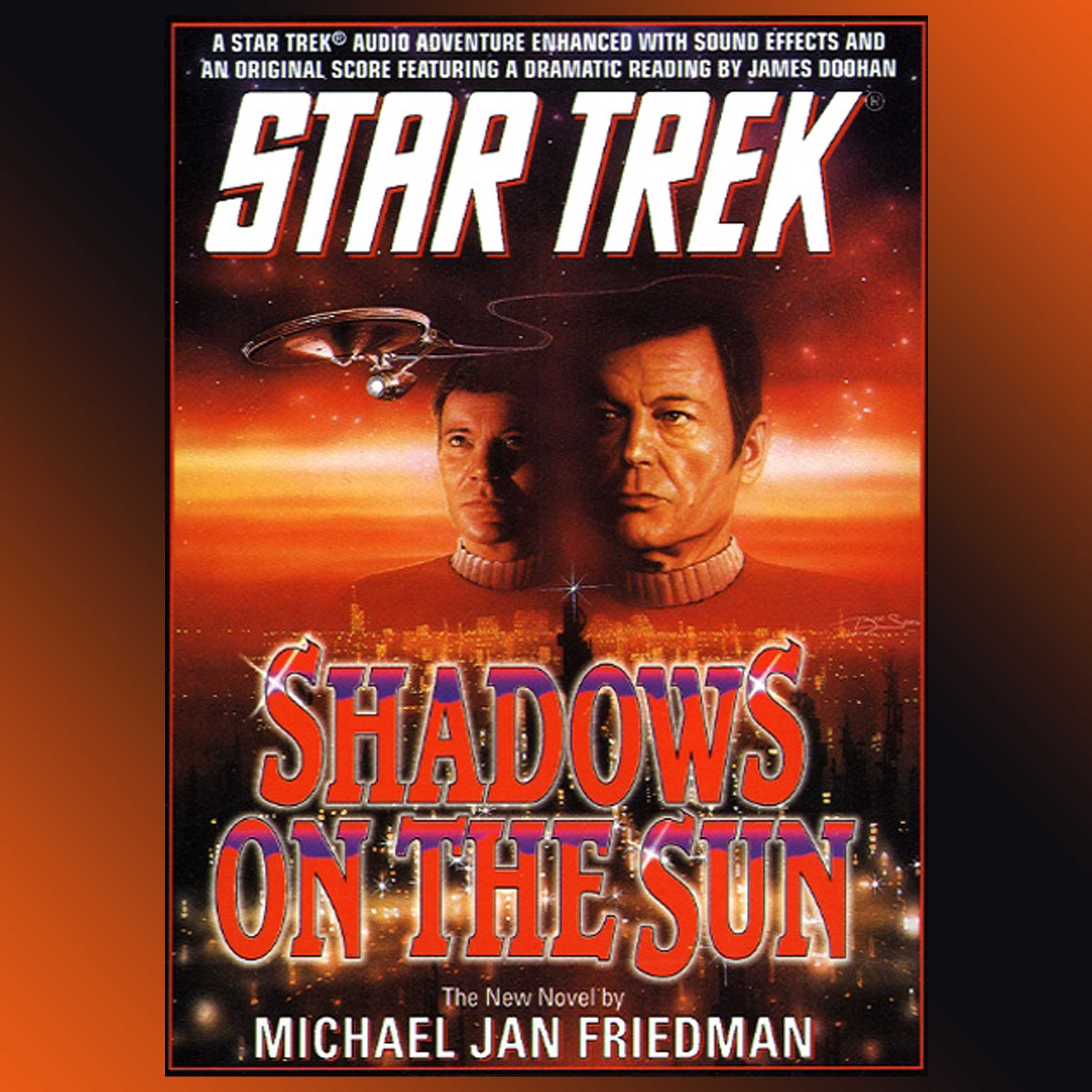 Star trek shadows on the sun 9780743546744 hr