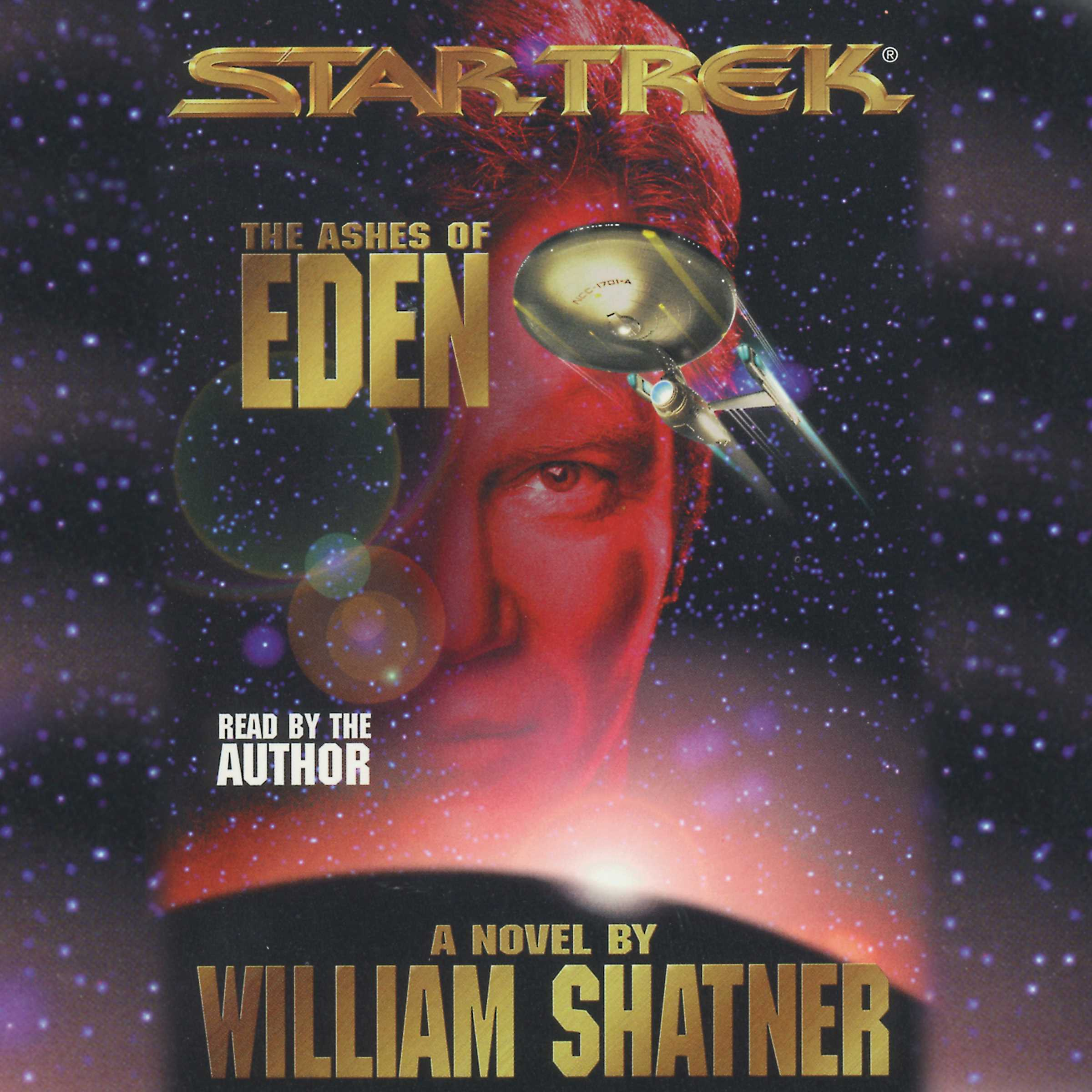 Star trek ashes of eden audiobook by william shatner official star trek ashes of eden 9780743546799 hr fandeluxe Images
