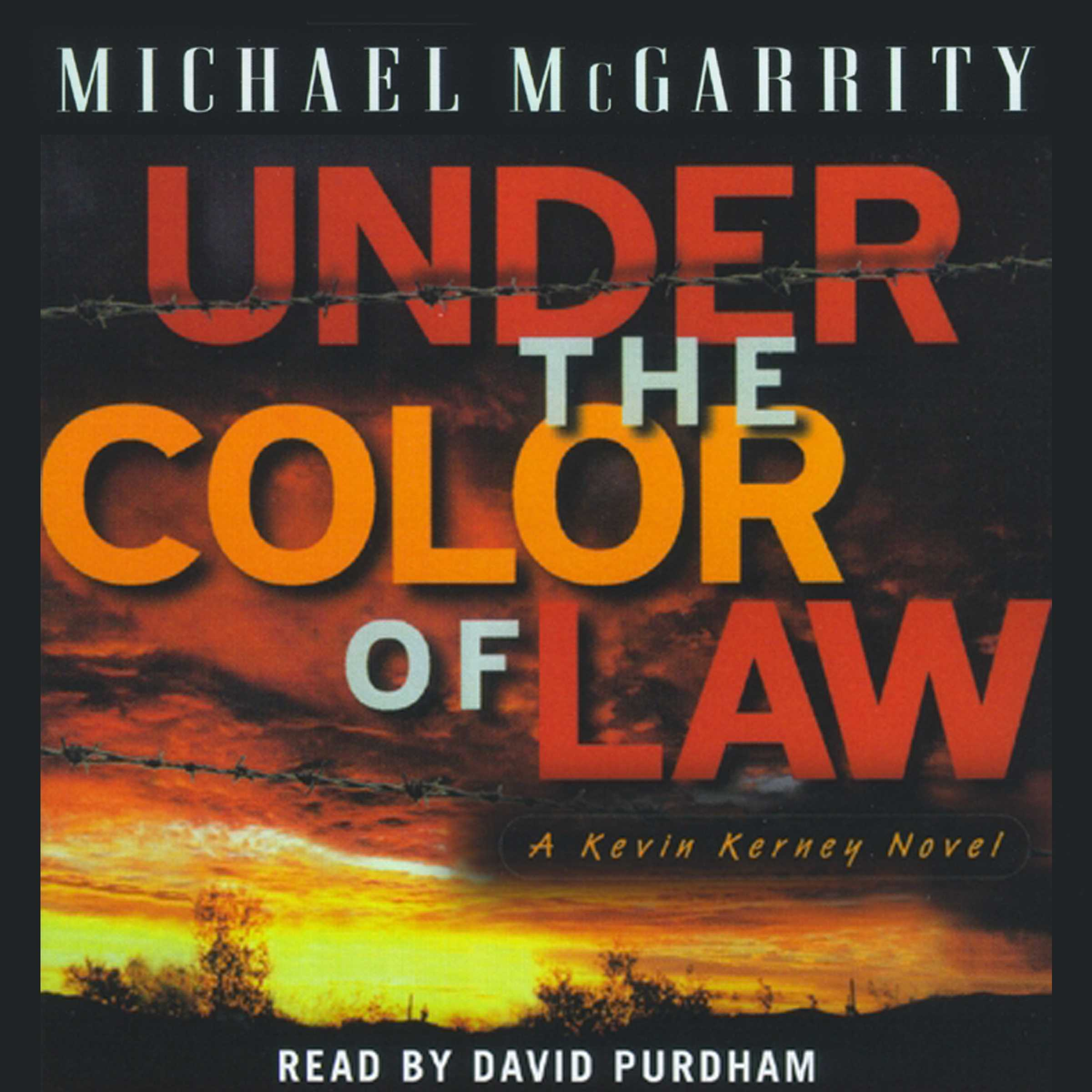 Under The Color Of Law Audiobook By Michael Mcgarrity David Purdham