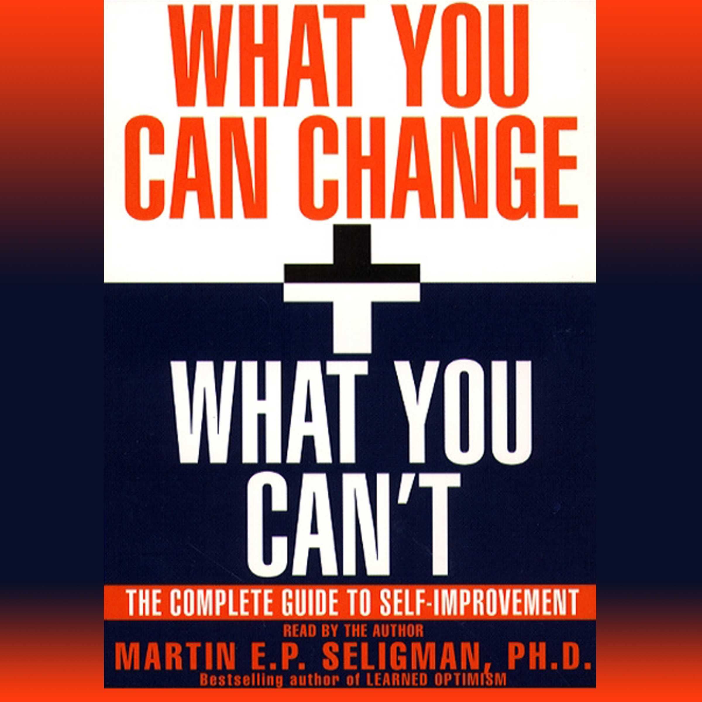 What you can change and what you cant 9780743549509 hr