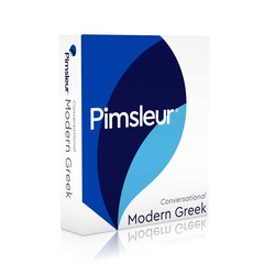Pimsleur Greek (Modern) Conversational Course - Level 1 Lessons 1-16 CD