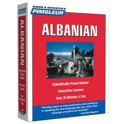 Pimsleur Albanian Level 1 CD