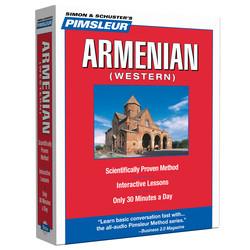 Pimsleur Armenian (Western) Level 1 CD