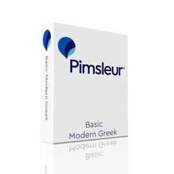 Pimsleur Greek (Modern) Basic Course - Level 1 Lessons 1-10 CD