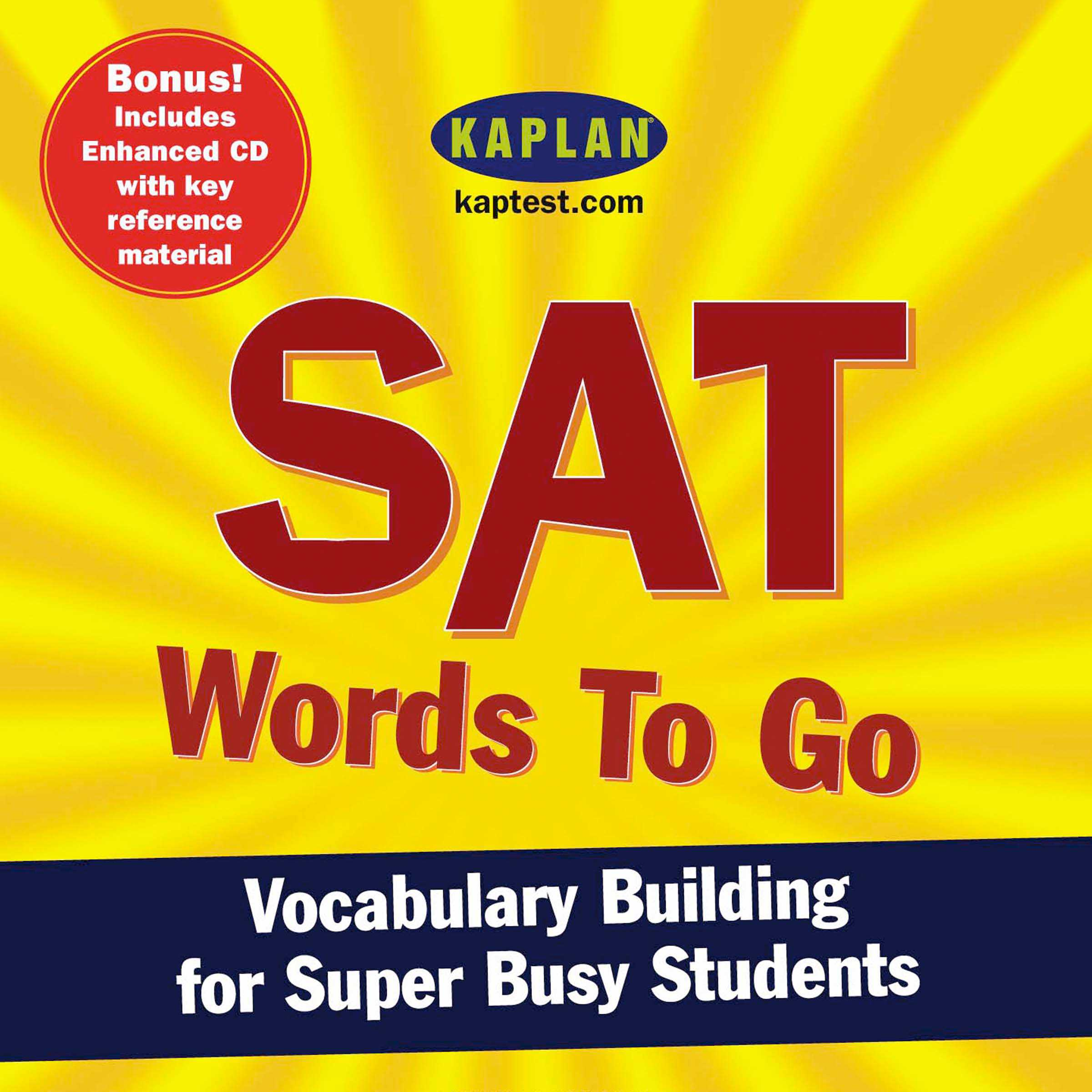 Sat words to go 9780743552004 hr