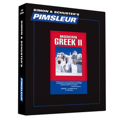 Pimsleur Greek (Modern) Level 2 CD