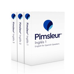 English for Spanish Speakers CD Language Courses 1-3 | Pimsleur