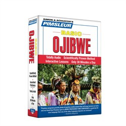 Pimsleur Ojibwe Basic Course - Level 1 Lessons 1-10 CD