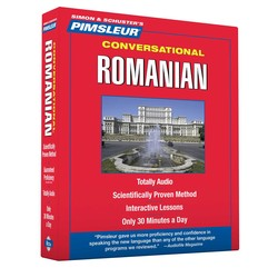 Pimsleur Romanian Conversational Course - Level 1 Lessons 1-16 CD