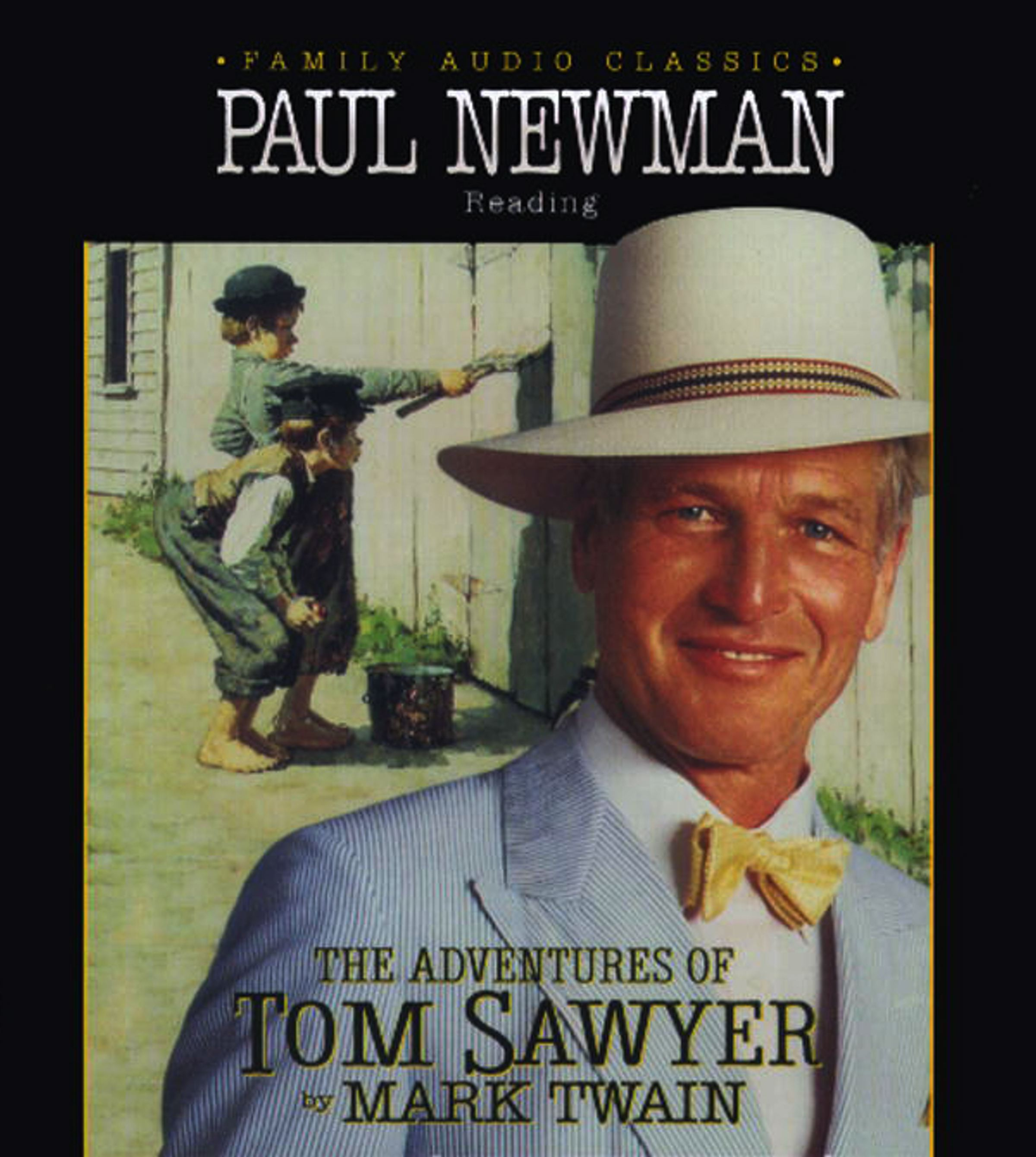 The Adventures of Tom Sawyer Audiobook by Mark Twain, Paul Newman  Official Publisher Page
