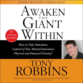 The influence of the book awaken the giant within