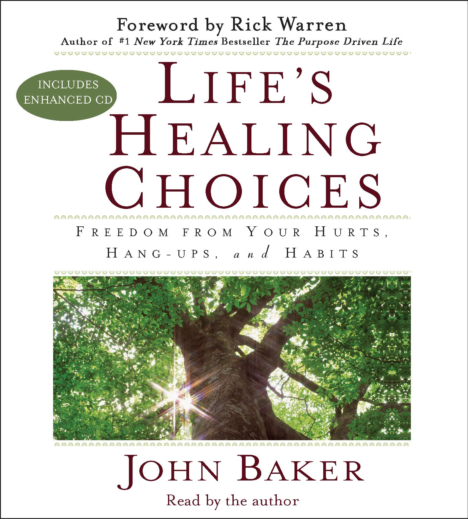 Life's Healing Choices Audiobook on CD by John Baker, Rick
