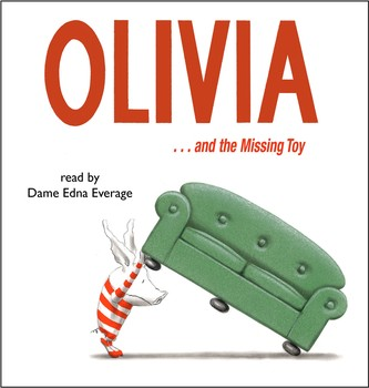 olivia and the missing toy audiobook by ian falconer
