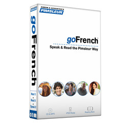 Pimsleur goFrench Course - Level 1 Lessons 1-8 CD