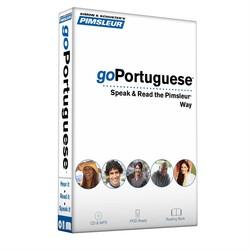 Pimsleur goPortuguese (Brazilian) Course - Level 1 Lessons 1-8 CD
