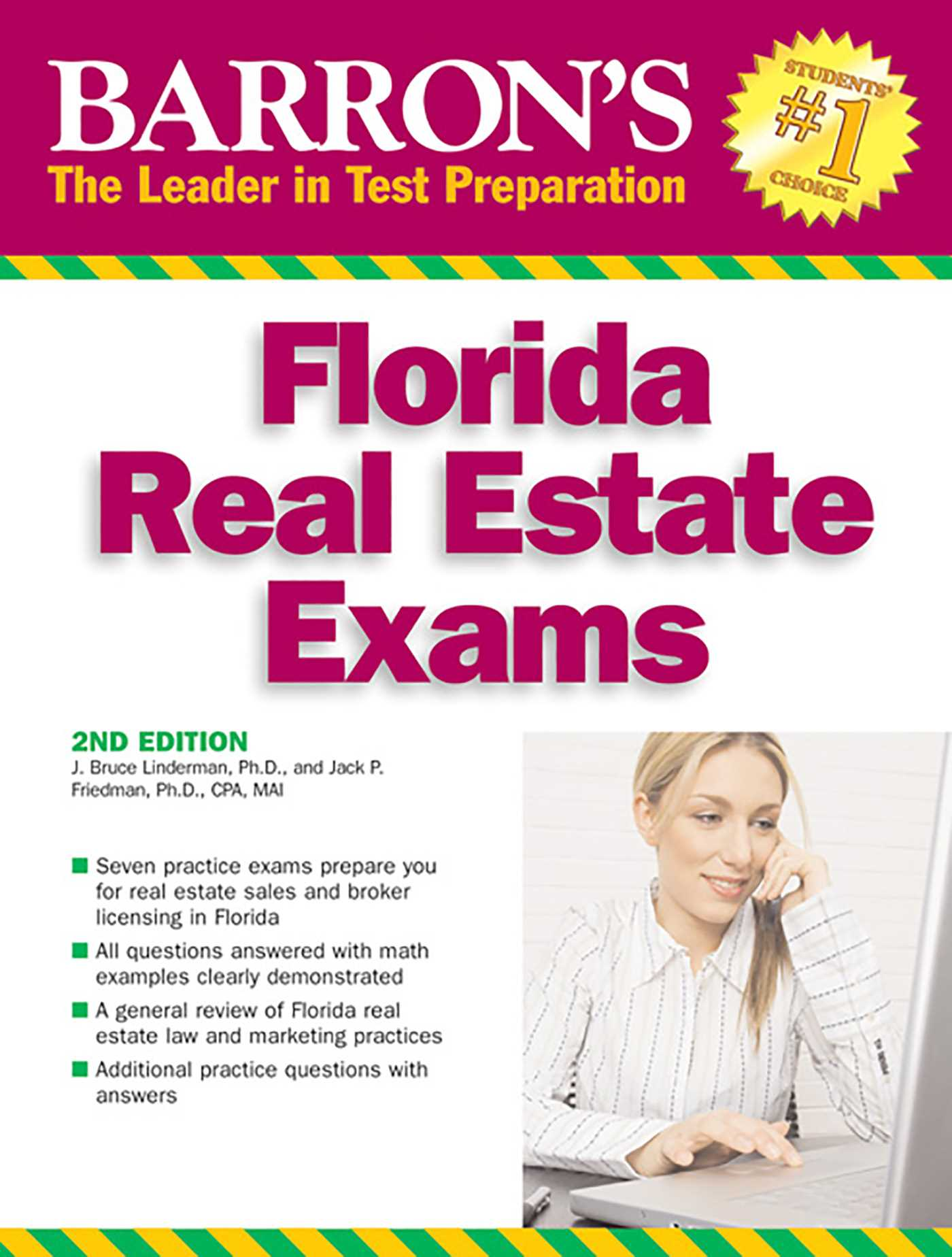 Barron's Florida Real Estate Exams | Book by J  Bruce