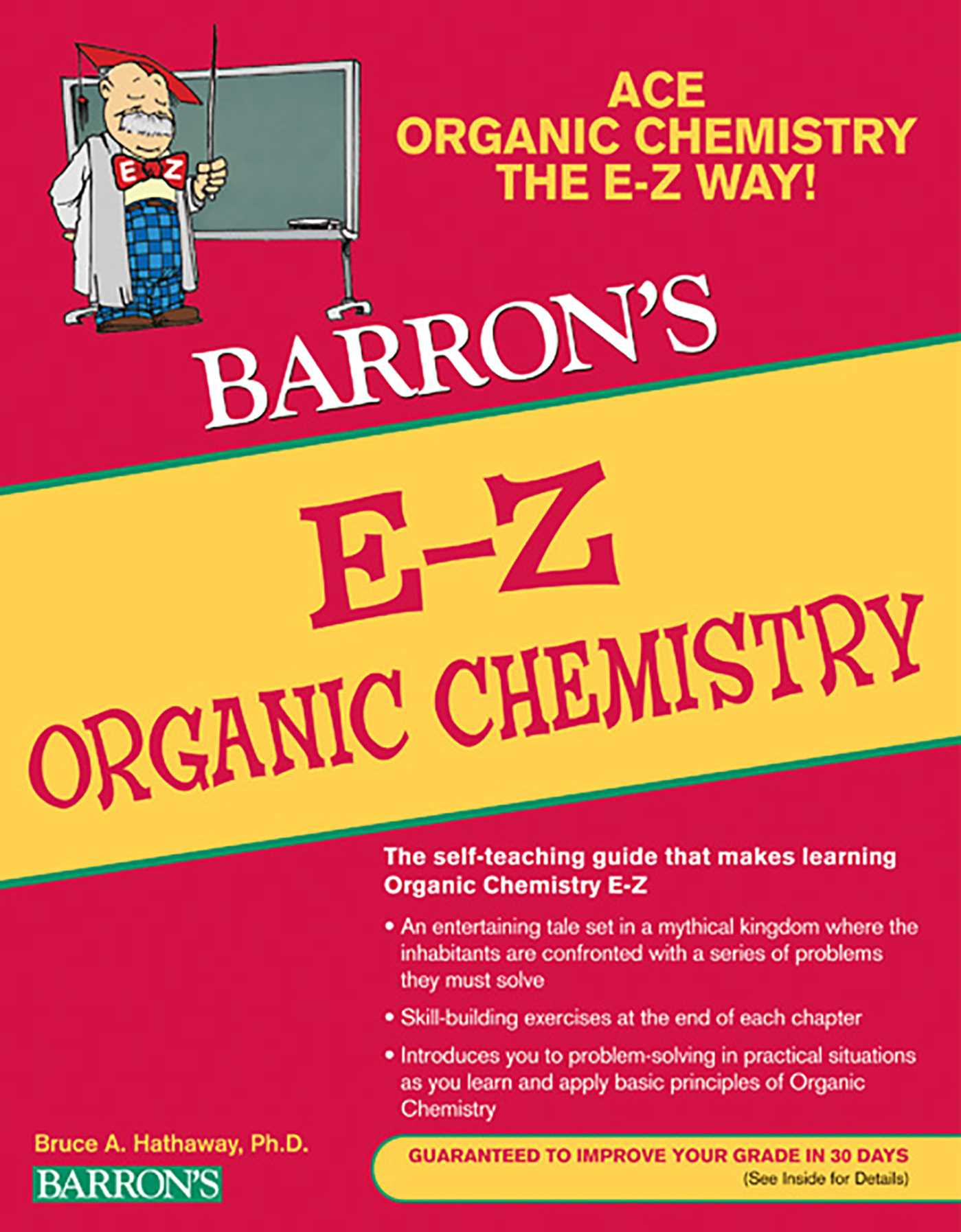 E-Z Organic Chemistry | Book by Bruce Hathaway | Official