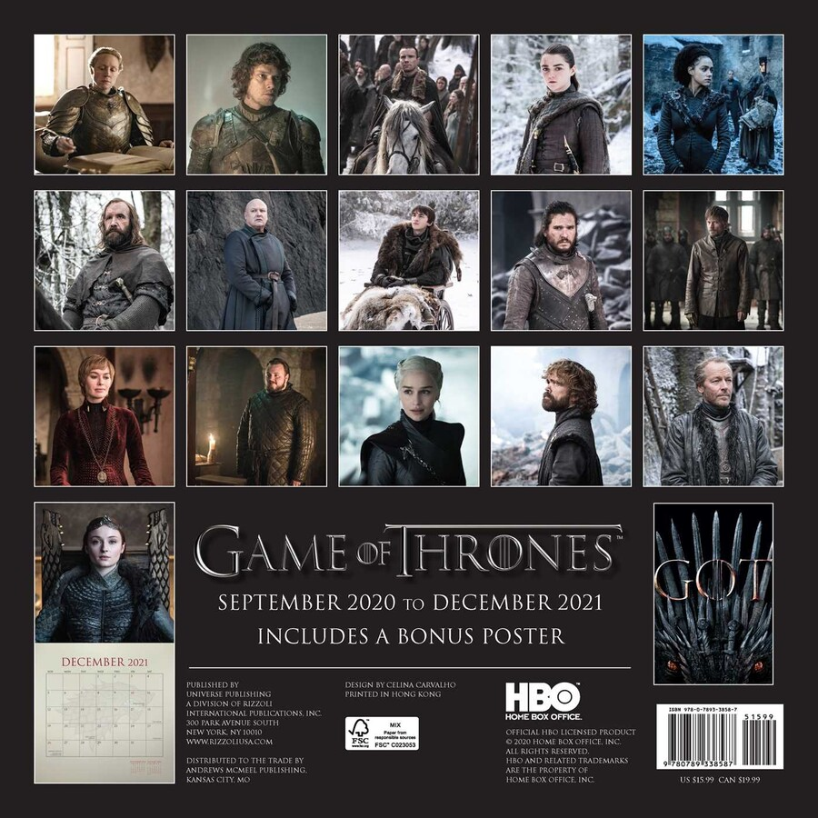 Game Of Thrones 2021 Start