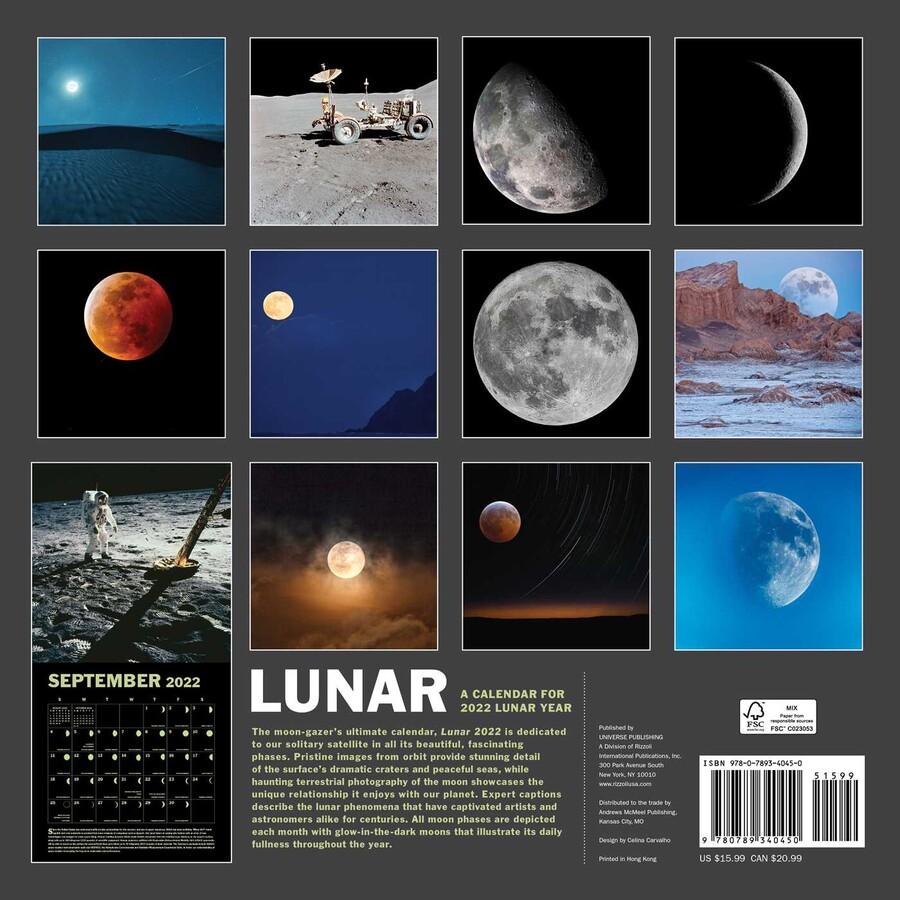 Celestial Calendar 2022.Lunar 2022 Wall Calendar Book Summary Video Official Publisher Page Simon Schuster