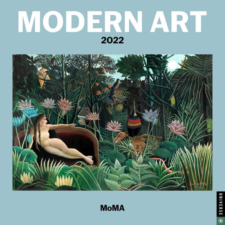 2022 Mini Calendar.Modern Art 2022 Mini Wall Calendar Book Summary Video Official Publisher Page Simon Schuster