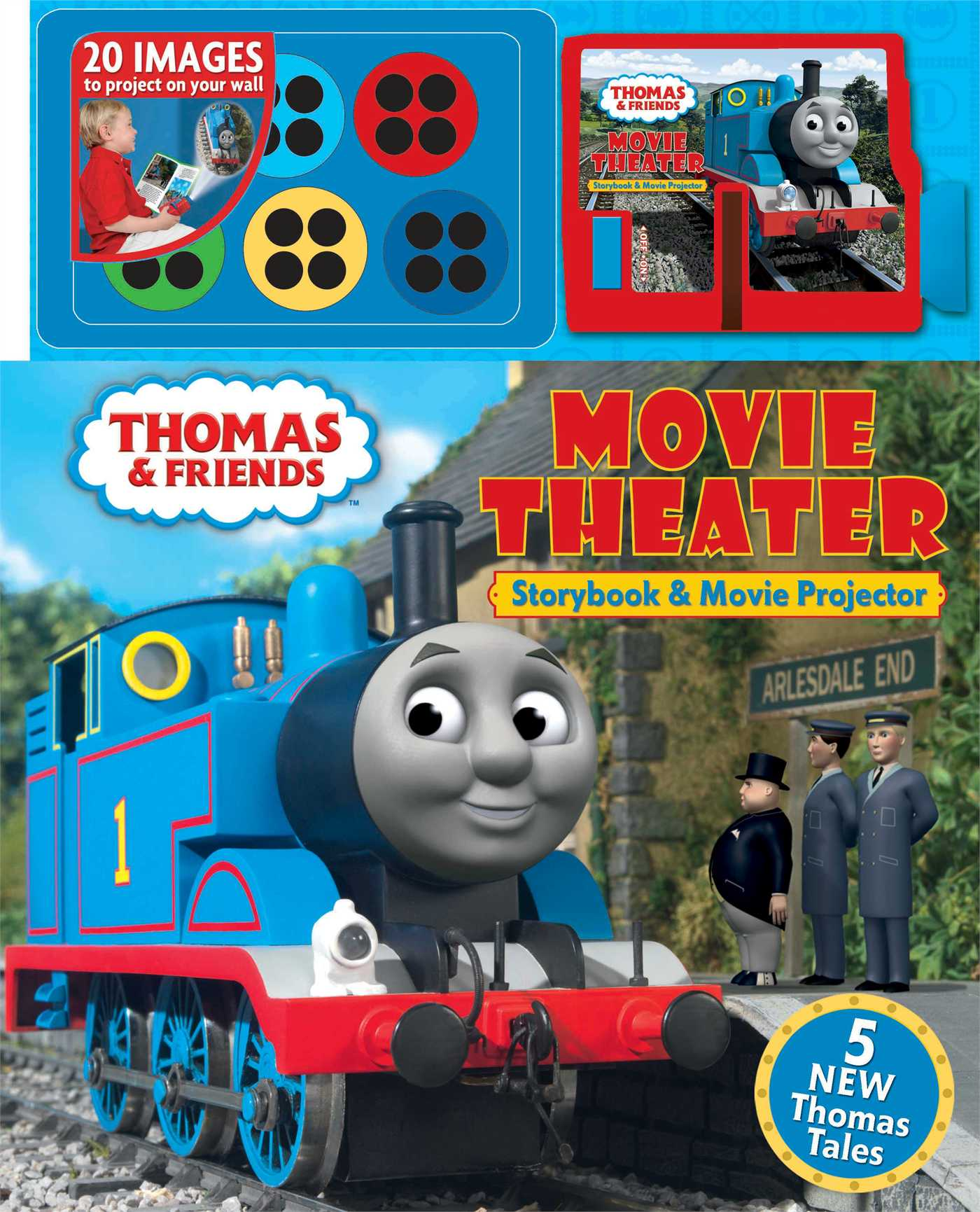thomas amp friends movie theater storybook amp movie projector