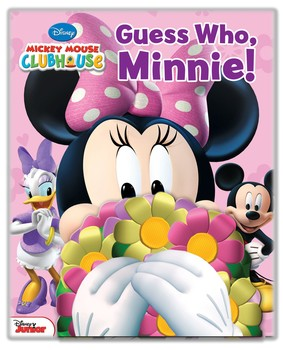 Disney Mickey Mouse Clubhouse Guess Who Minnie!  sc 1 st  Simon u0026 Schuster & Disney Mickey Mouse Clubhouse: Guess Who Minnie! | Book by Lilly ...