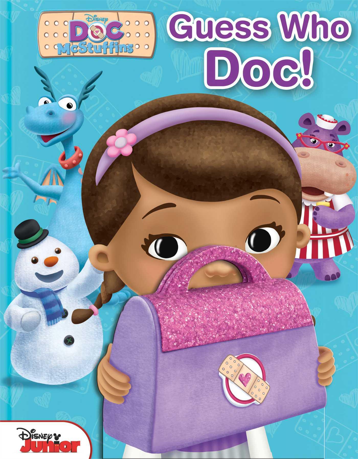 Disney doc mcstuffins guess who doc 9780794430054 hr