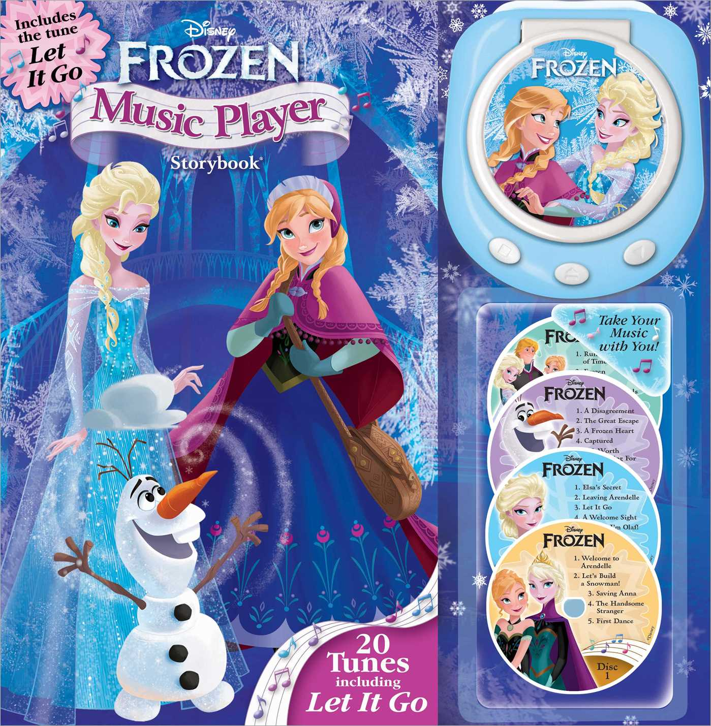Disney Frozen Music Player Storybook | Book by Disney