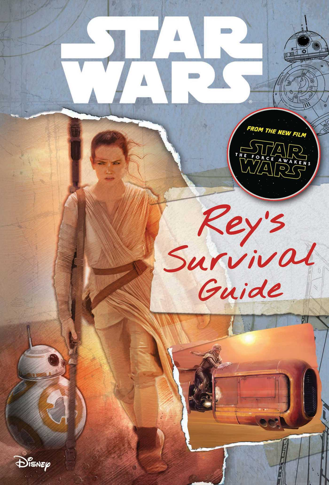 Star wars the force awakens reys survival guide 9780794435691 hr