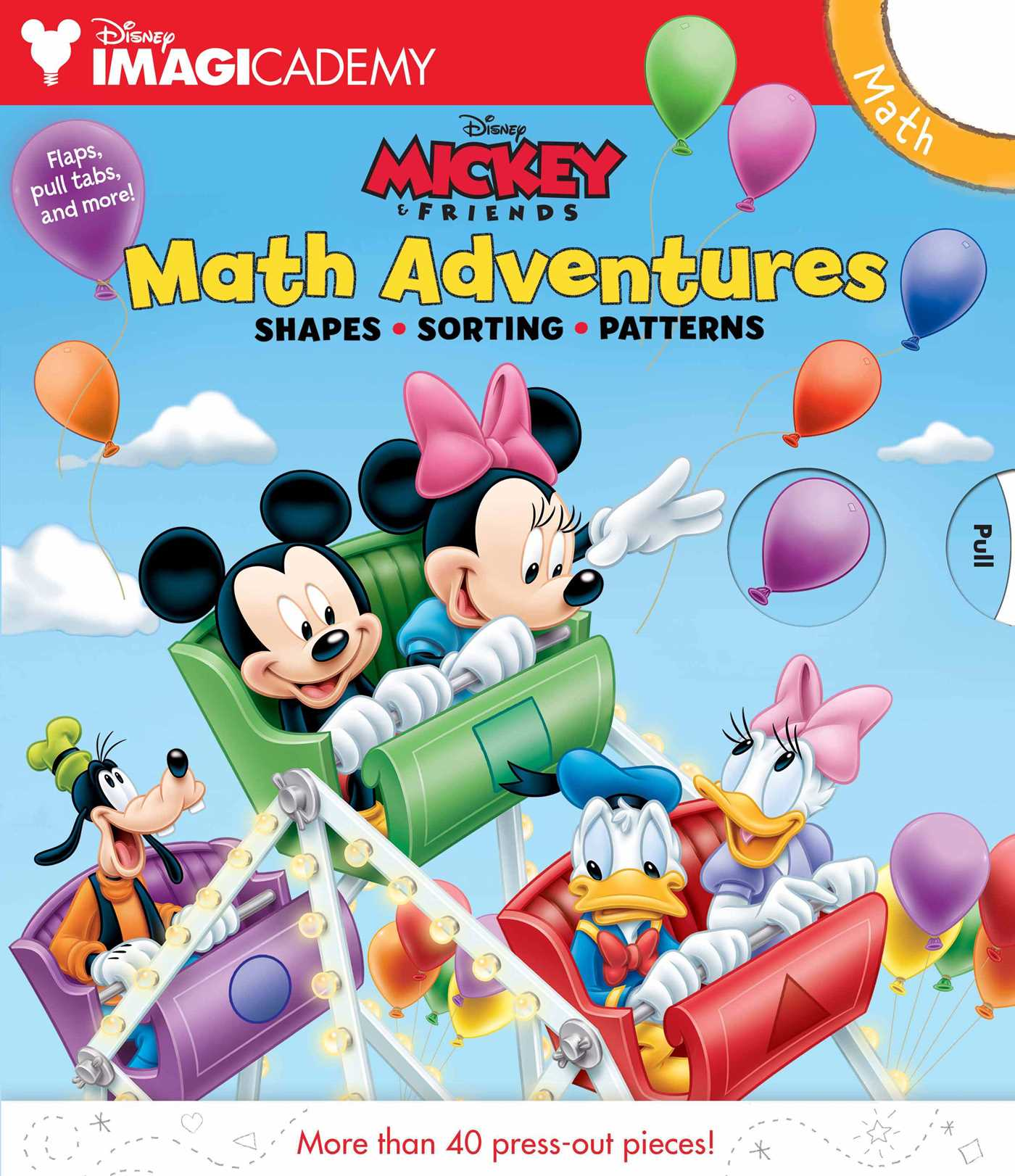 Disney Imagicademy: Mickey\'s Math Adventures | Book by Disney Mickey ...