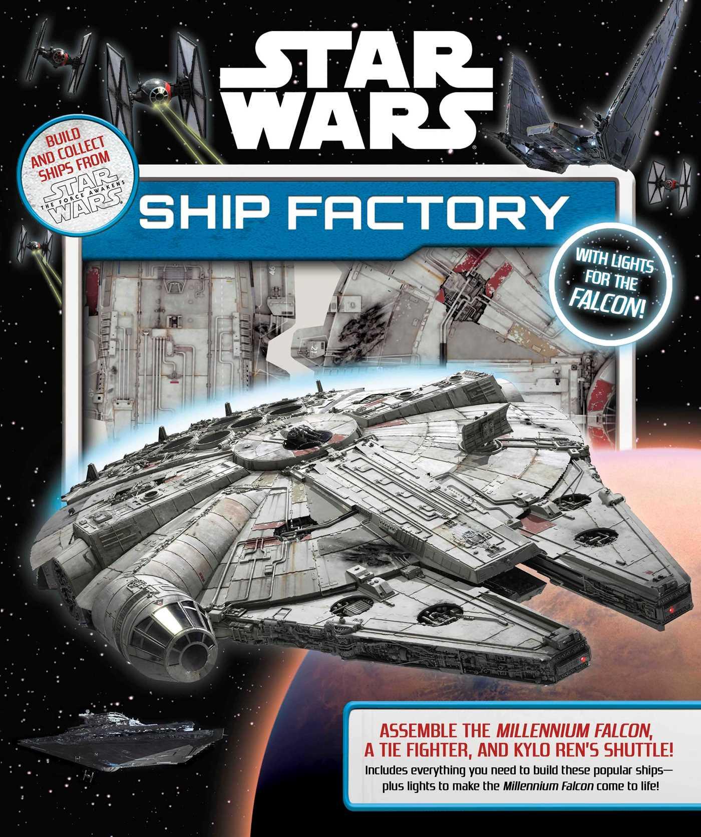 Star wars ship factory 9780794437398 hr