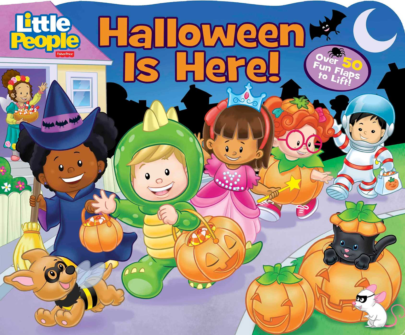 Fisher-Price Little People: Halloween Is Here! | Book by Fisher ...