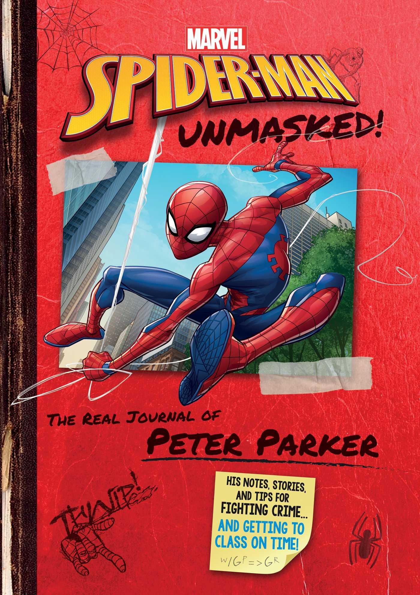 Book Cover Image Jpg Marvel Spider Man Unmasked