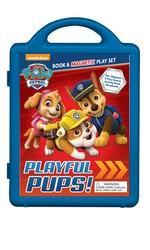 PAW Patrol: Playful Pups!: Book & Magnetic Play Set
