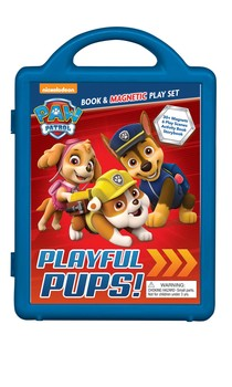 PAW Patrol: Playful Pups!: Book & Magnetic Play Set