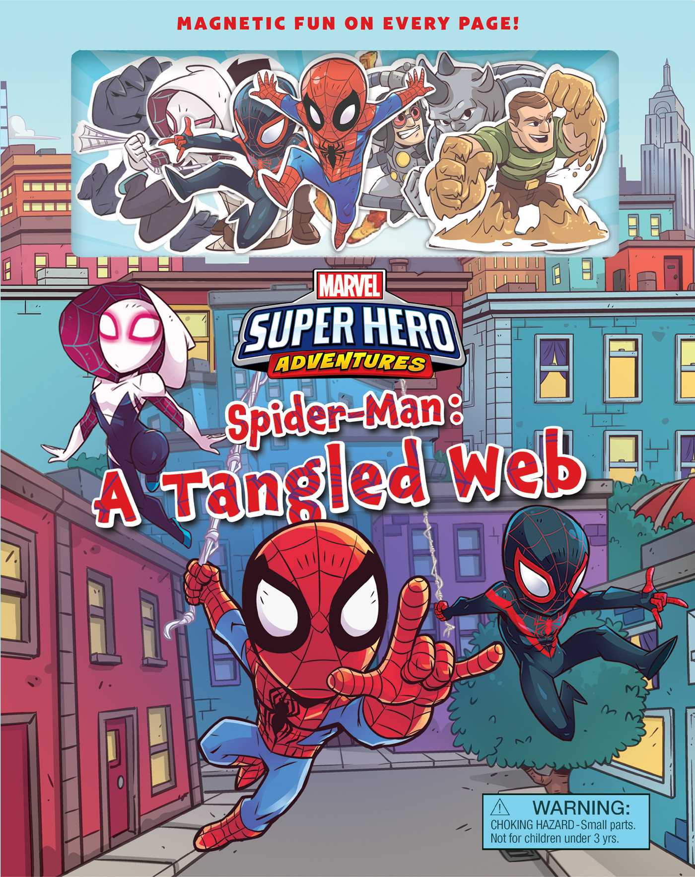 Marvel super hero adventure spider man a tangled web 9780794440107 hr
