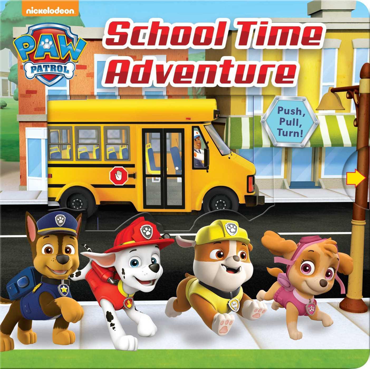 Paw patrol school time adventure 9780794440206 hr