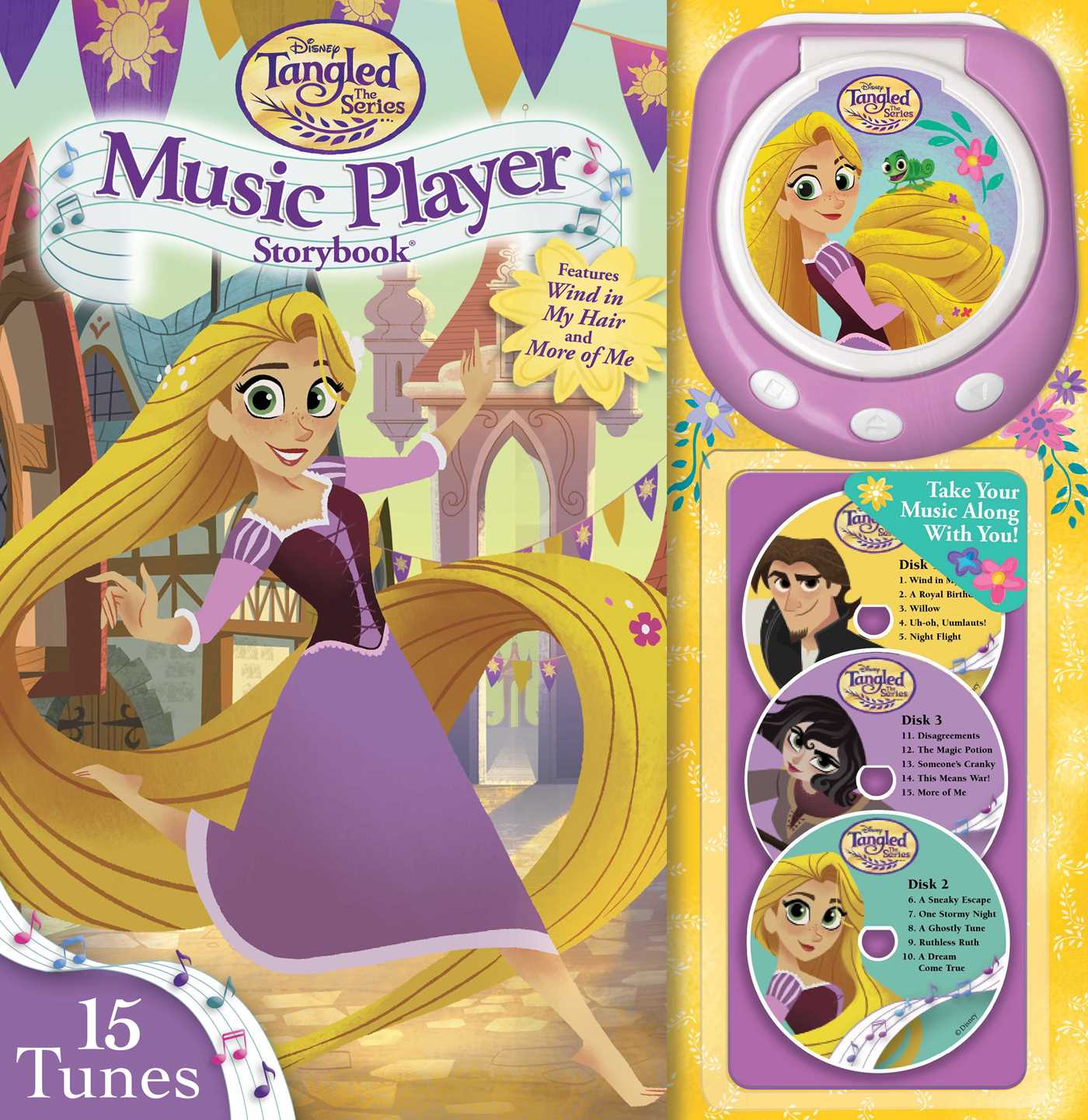 disney tangled the series brave the braid music player storybook
