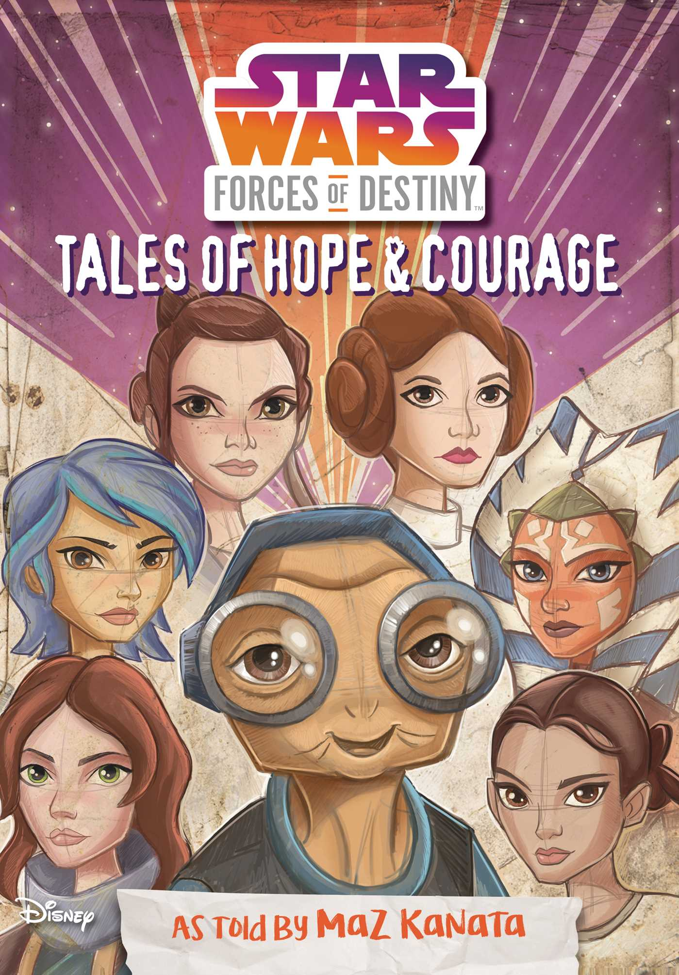 Star wars forces of destiny tales of hope courage 9780794440367 hr