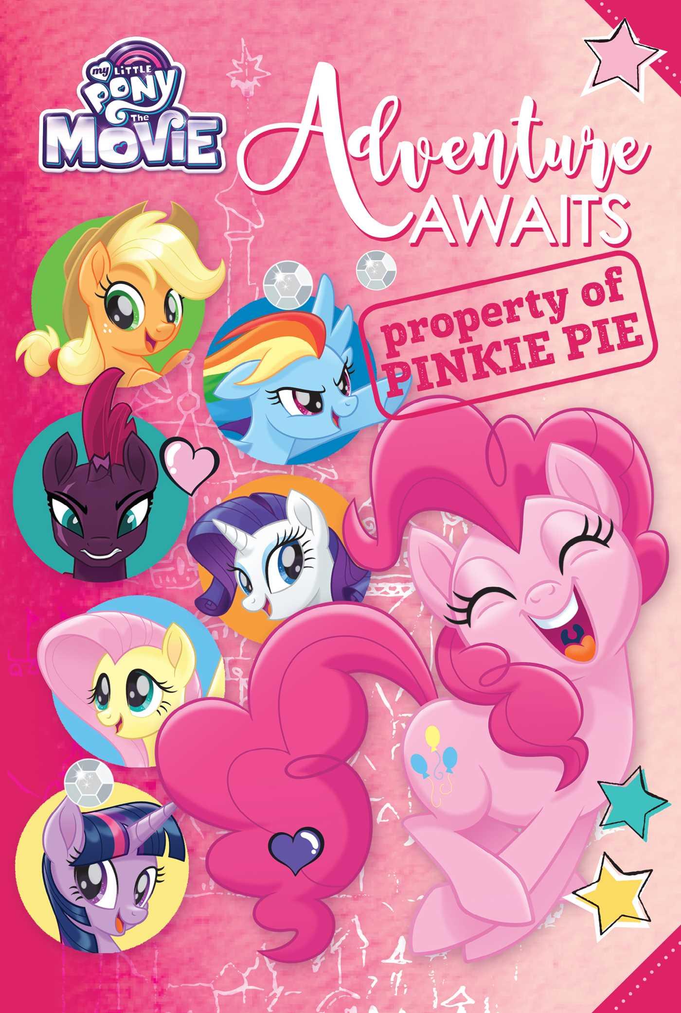 My little pony the movie adventure awaits 9780794440435 hr