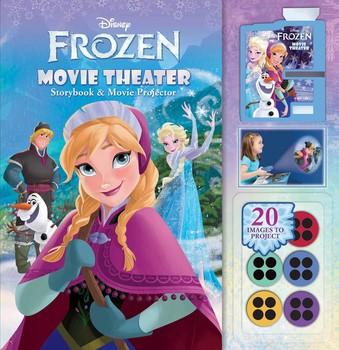Disney Frozen: Movie Theater Storybook & Movie Projector