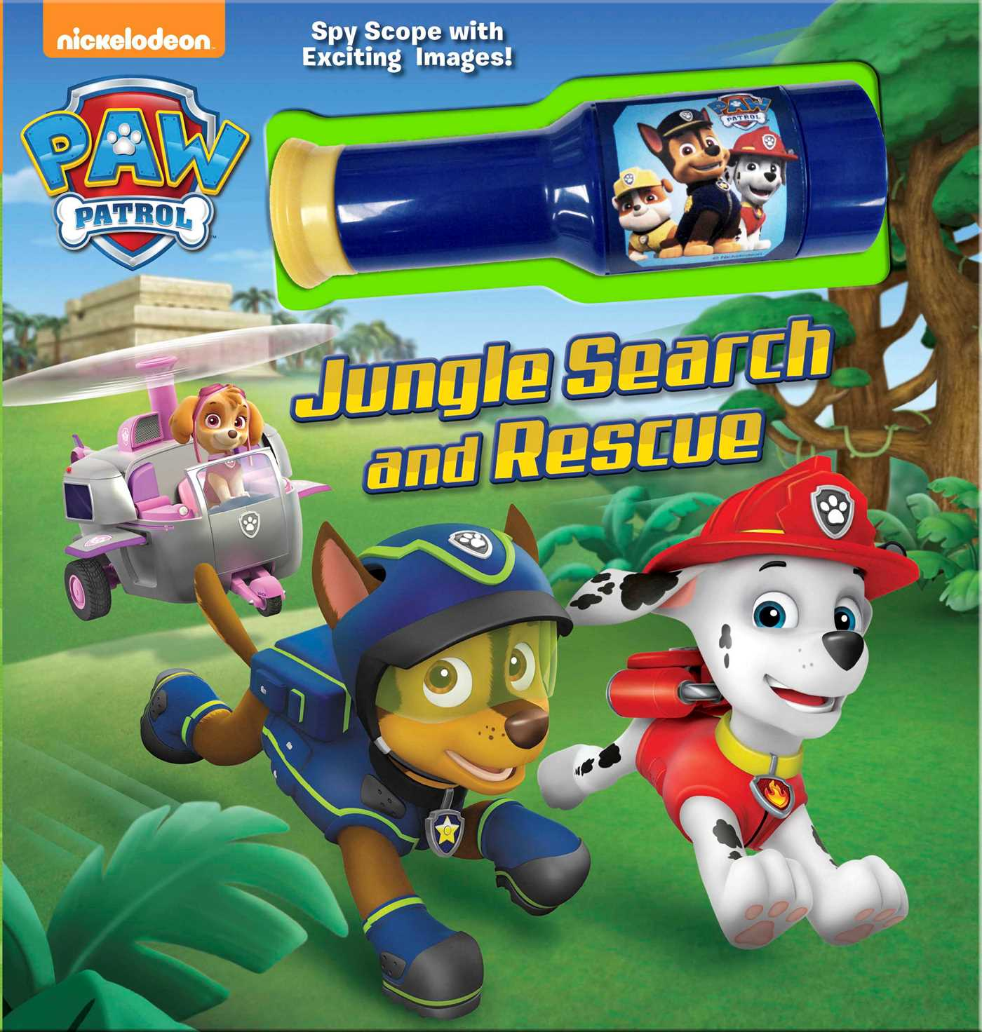 Nickelodeon Paw Patrol Jungle Search And Rescue Book By