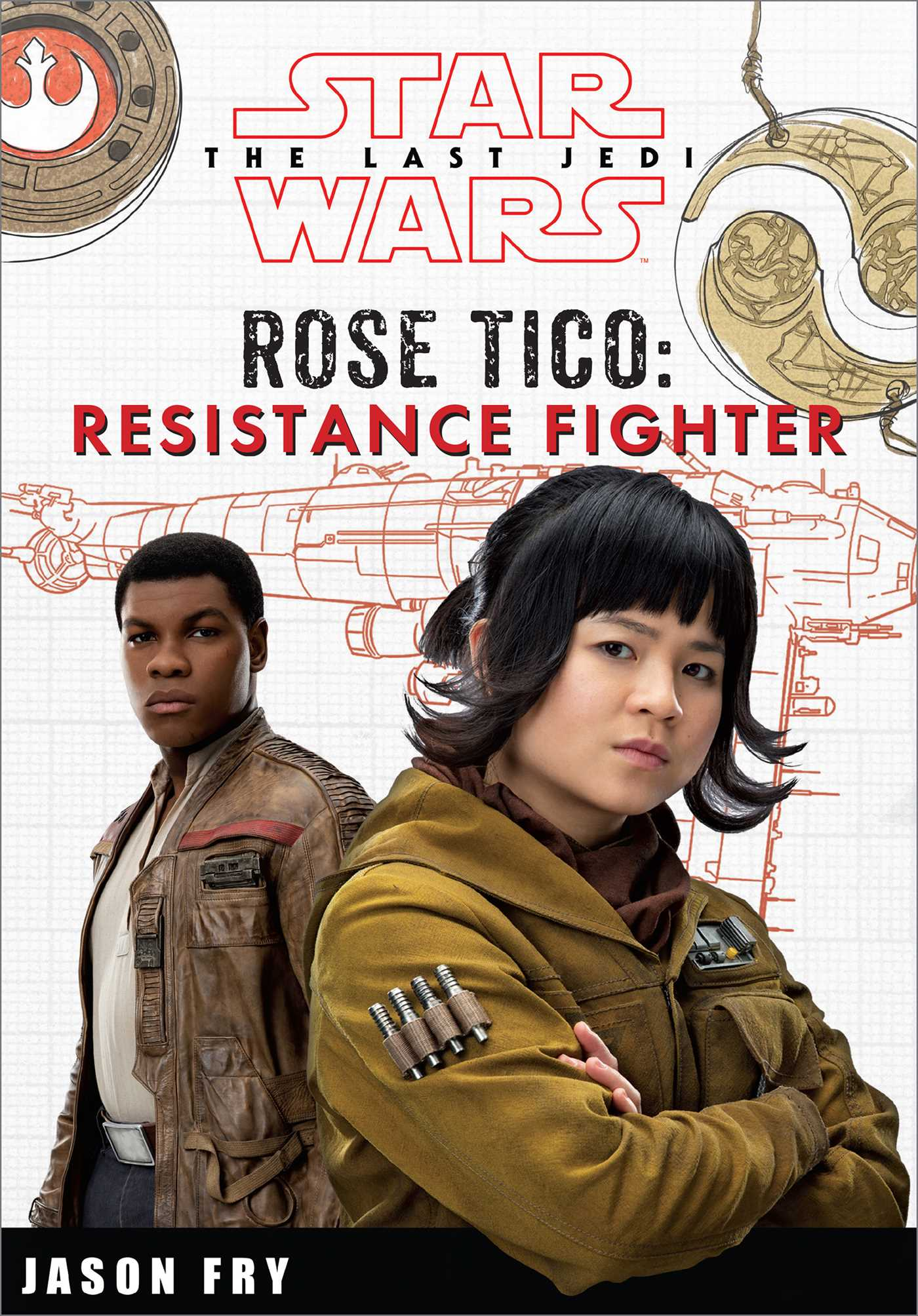 Star wars the last jedi rose tico resistance fighter 9780794441050 hr