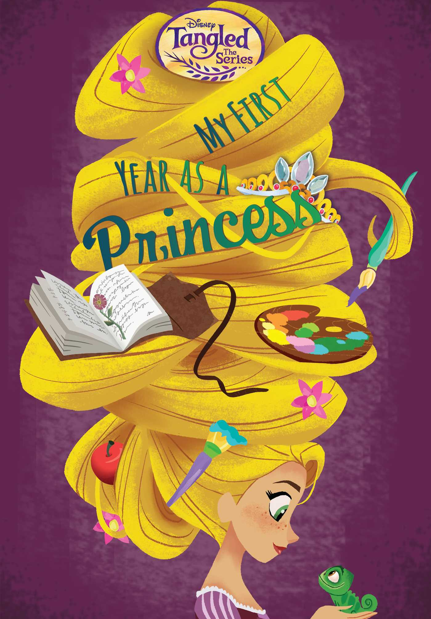 Disney tangled the series my first year as a princess 9780794441074 hr
